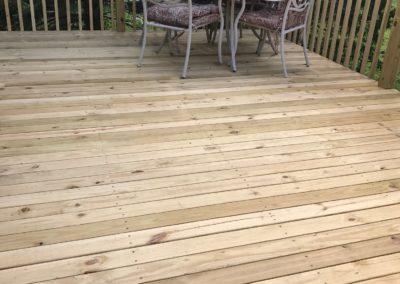 Deck Floor After