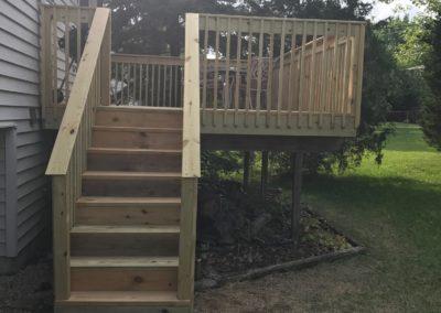 Deck Repair Steps After