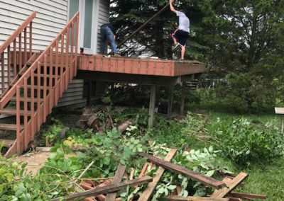 Deck Repair Tear Out