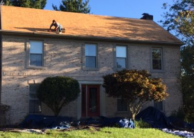 Roof Replacement - Before