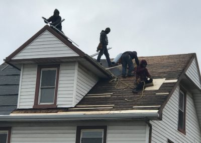 Roof Wood Replacement