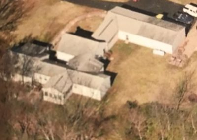 Roof Before - Aerial View