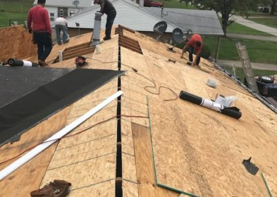 Roof Ridge Wood Replacement