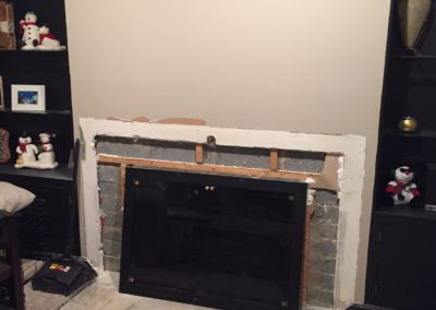 Fireplace - Tear Out