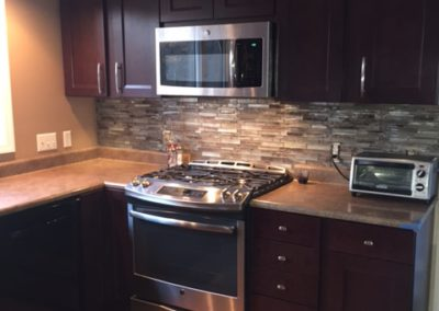 Kindlewood Kitchen - Cabinets, Backsplash, Painting