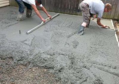 Concrete Installation Pour