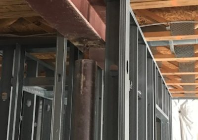 Support Pole & Beam Framing