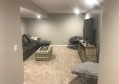 After Leading to Family Room Area