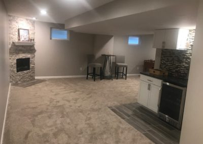After View to Fireplace Area
