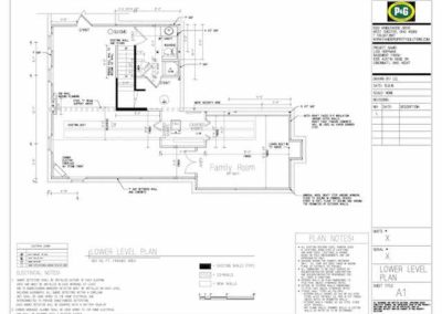 Holiday Basement Diagram Plan