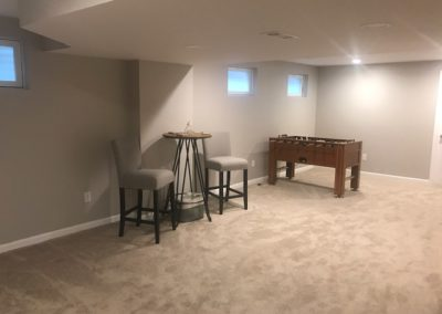 Proposed Game Room Area